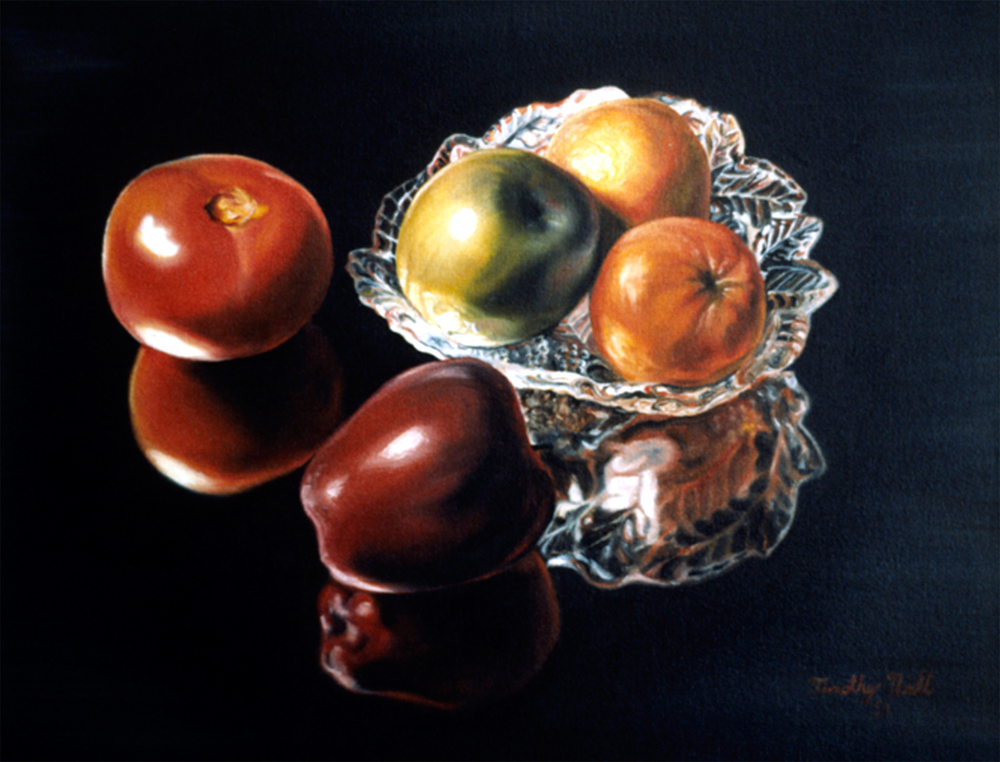 Reflected Fruit