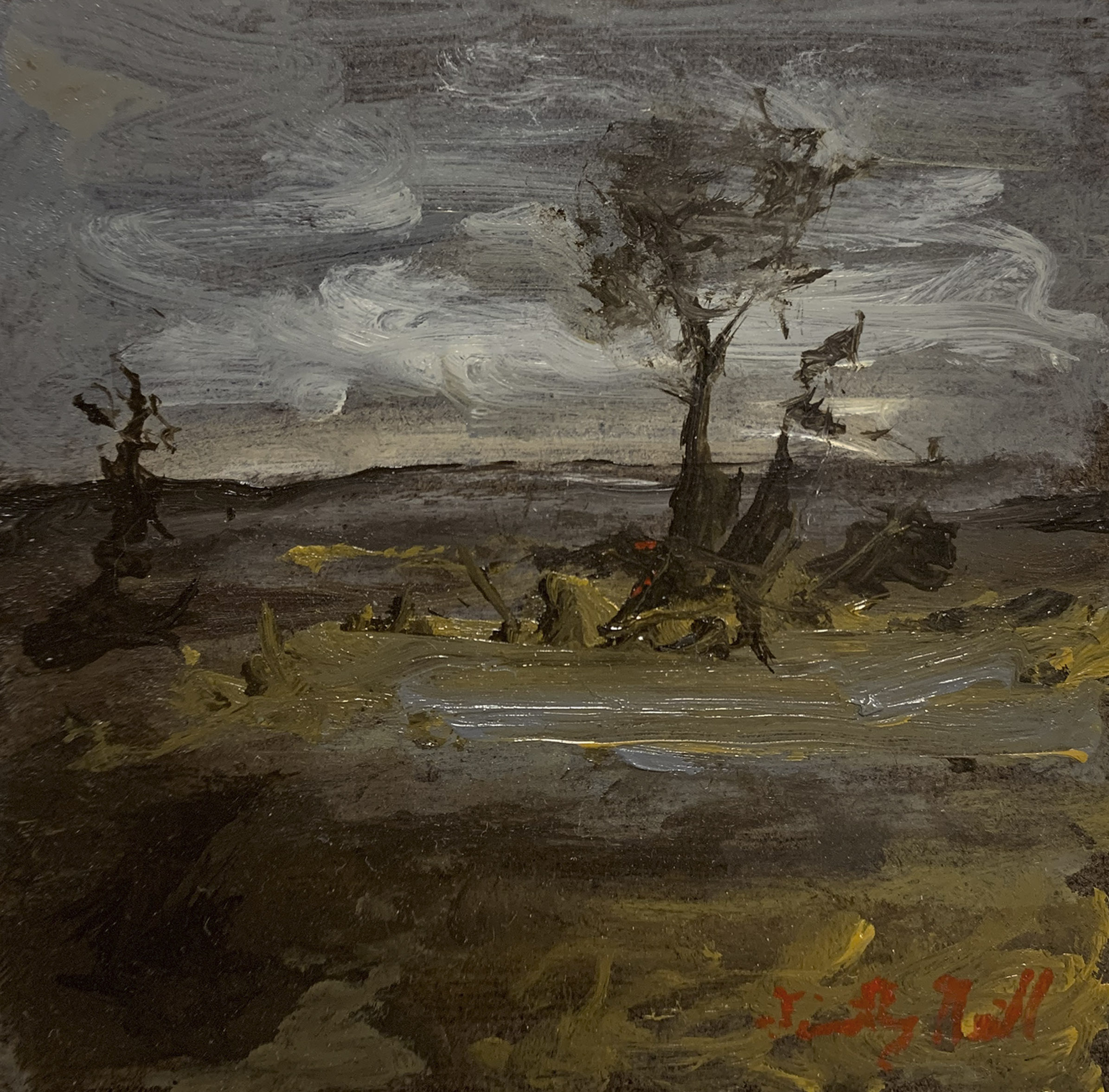 Tonalist Landscape Two